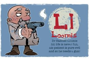 L is for Loomis by Ape74