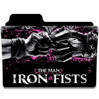 The Man with the Iron Fists Folder Icon by efest