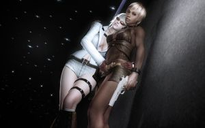 Sheva And The Lady by Rastifan