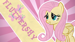 Wallpaper - Fluttershy by snajperpl