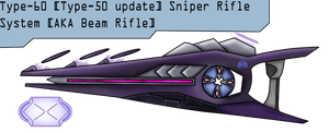 Type-60 SRS Beam Rifle Redesign by HWPD