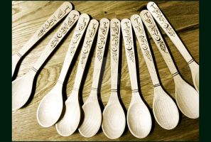 Wooden Spoons by RoiYik