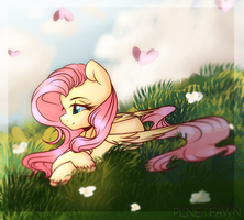 Over the meadows by PlnetFawn