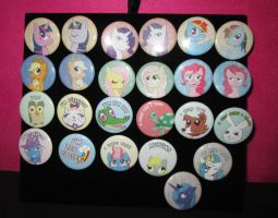BroNYcon Buttons by full-on-zombie