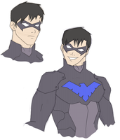 Revival: Nightwing by theGnomeKing