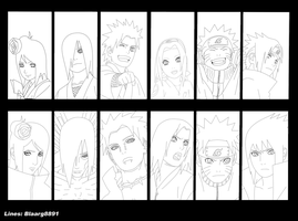 Naruto 442 page 02 lineart by blaarg8891