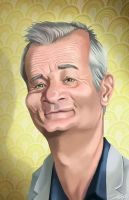 Bill Murray by tommybradnam
