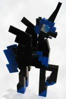 Lego Nightmare Moon by Scootabyte