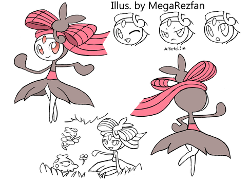 Meloetta Marvel Form by MegaRezfan
