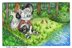 Riverbank:: commission by mmishee
