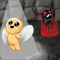 Binding of Isaac: Two sides by Metabug