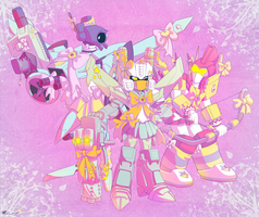 Magical Robots by Humblebot