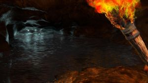 Water cave by jonsmith512