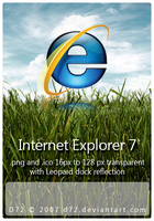 Internet Explorer 7 by D72