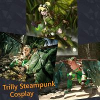 Twisted Fairie Tinker Bell cosplay by Italicans