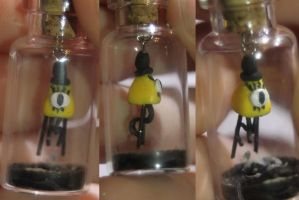Bill Cipher in a Bottle by Autumn--Storm