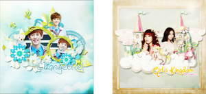 [Pack Free Size] For Dorabin and BV Couple by jangkarin