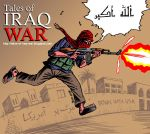 Tales of Iraq War comics by Latuff2