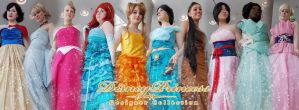 Designer Disney Princess Cosplay Collection by Street-Angel