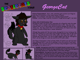The BeatleCats - George by BlackRayquaza1