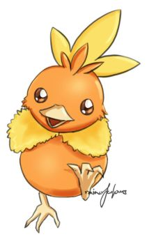 Pokemon - Torchic (Static) by mystickal-celticka