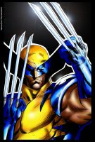 coloring wolverine by jerichobscura