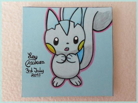 Pachirisu [Fan Art] by LeyAsakura