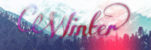 [TYPOGRAPHY] WINTER by shinniebabe24