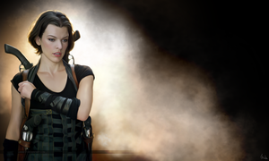 Resident Evil - wallpaper (Painting) by Lasse17