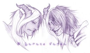 Gaia Commission: KD and EKD by SerenaVerdeArt