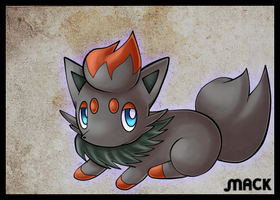 ...:Zorua:... by Mack-chan