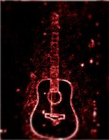 Guitar Neon by take-me-for-who-i-am