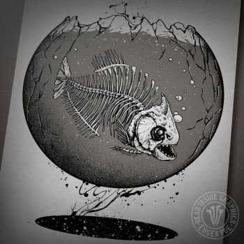 Piranha by DeadInsideGraphics