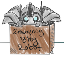 emergency blog robot by Cricket91