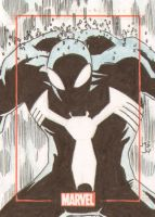 Symbiote Spiderman by Bulun