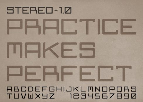 Stereo 1.0 - Practice Makes Perfect by Squigglybleh