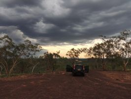 storm chasers at the look out by kalascee