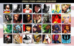 Form Your Justice League by Xionice