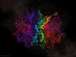 Passion Wallpaper by HypnoticMystery