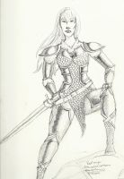 Red Sonja Armor by psychoviolinist1012