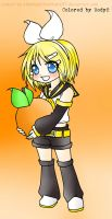 Semi Chibi Rin Colored by me by Rody2