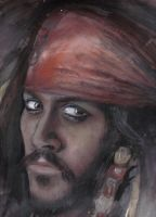 Captain Jack Sparrow by cpn-blowfish
