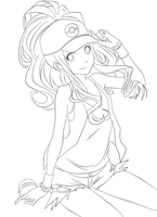 Touko Lineart by Artimex