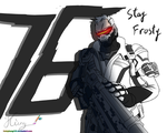 Soldier 76 by liuhyhung123