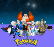 My Pokemon Team by The-human-wolf