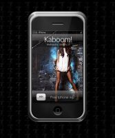 Kaboom Collab - iphone WP by ZirTuan