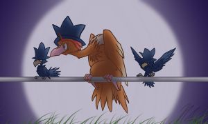 Trick - Fearow by BatLover800