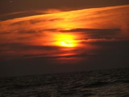 Romantic Sunset - Baltic by DarkDrows
