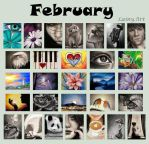 February's ACEOs for Charity! by secrets-of-the-pen