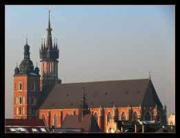 Wiev From The Roof - Cracow 1 by skarzynscy